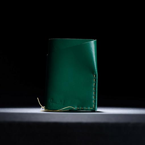 Portcard Piele Verde