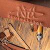 breloc personalizat brelocuri personalizate piele maro bratara fossil